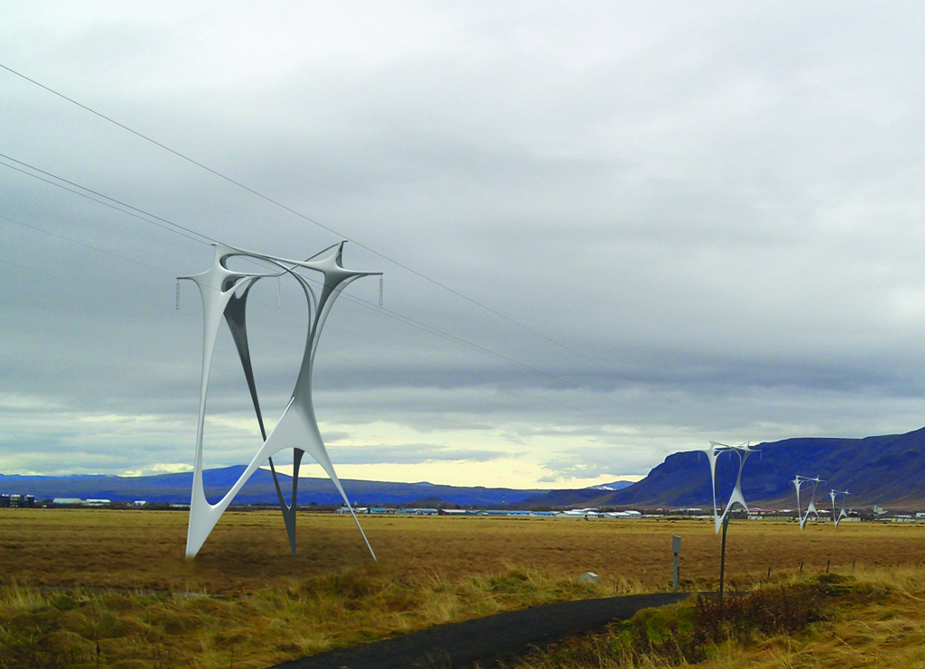 High Voltage Transmission Line Towers Arphenotype