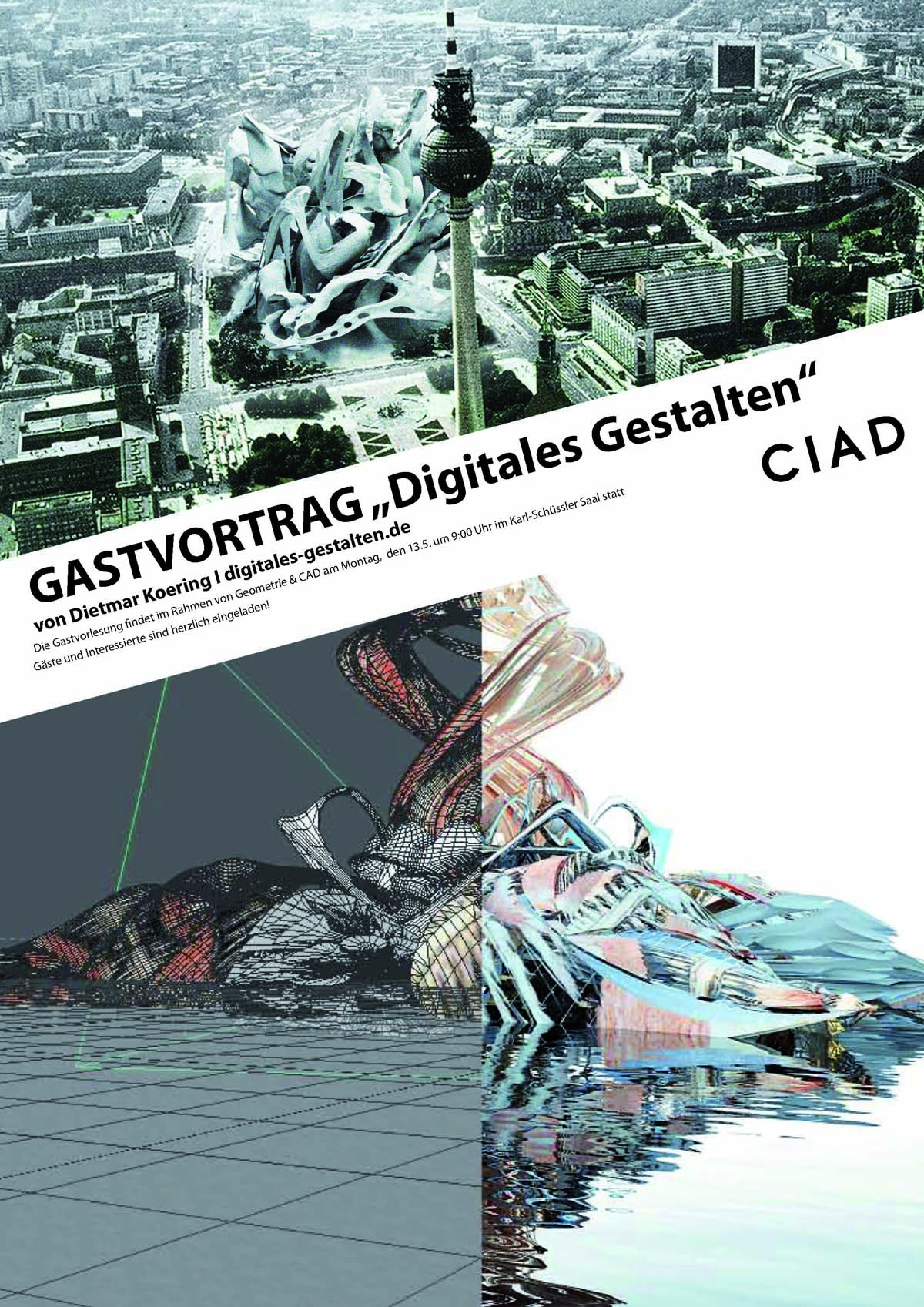 Gastvortrag Digitales Gestalten C-I-A-D