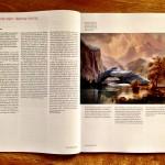in the mountains / albert bierstadt