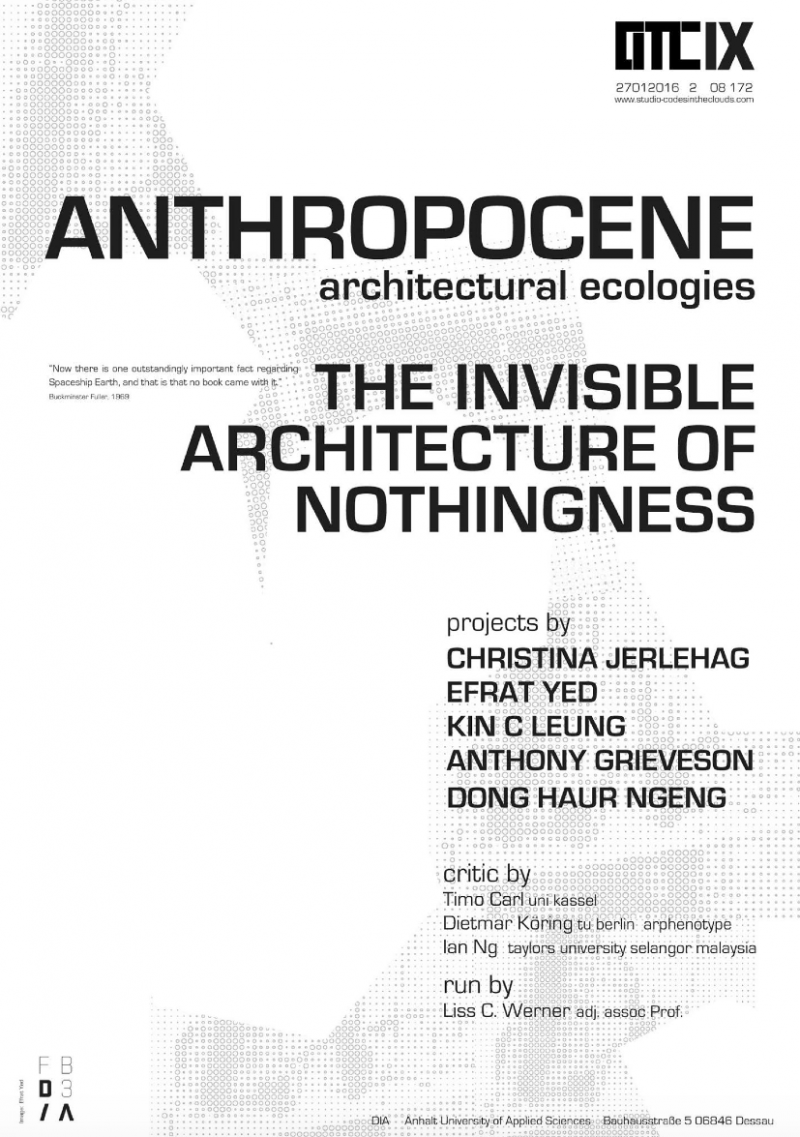 Guest Crit at CODES IN THE CLOUDS IX – ANTHOPOCENE – DIA Dessau