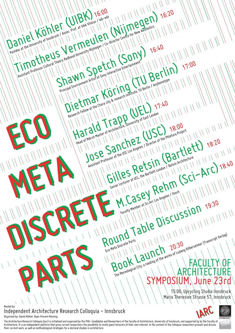 Eco Meta Discrete Parts Symposium