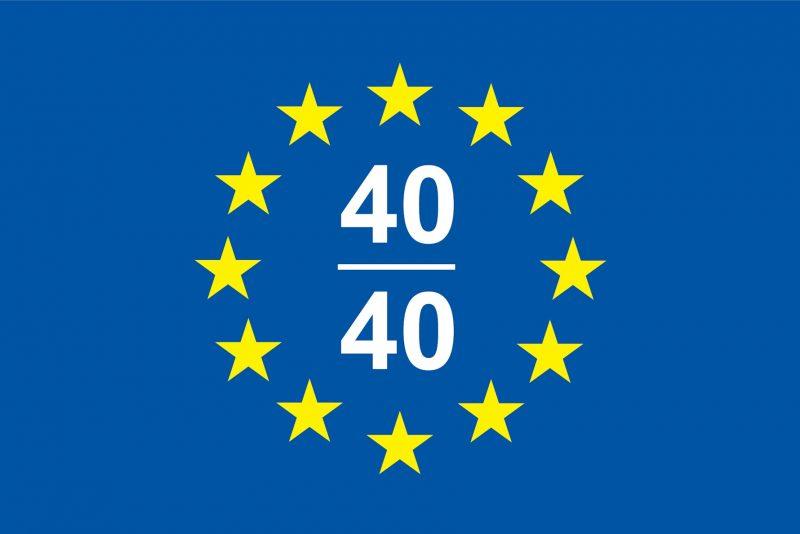 "2016/17 Laureate of ""Europe 40 Under 40."""