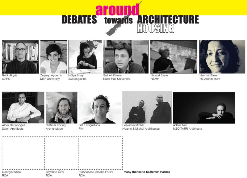 Debates around/towards Architecture & Housing