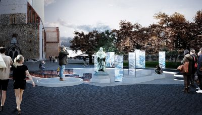 Martin Luther Denkmal 2017 Image by Max Rudolph Arphenotype with Robert Seidel